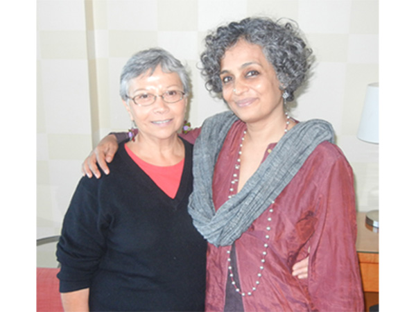 Carmen Rodriguez and Arundhati Roy, Vancouver, March 31,2014