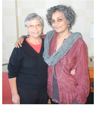 Carmen Rodriguez Arundhati Roy, Vancouver, March 31,2014
