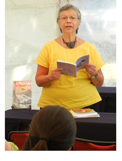 Carmen Rodriguez at the San Miguel de Ayende Writers Festival, 2013